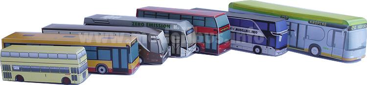 Basteln papier bus aus ▷ Coole