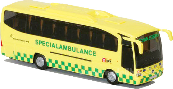 Mercedes-Benz Tourino Falck AmbulanceAWM 73425 modellbus.info