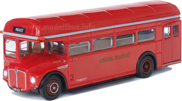 AEC RM 1368 single deck modellbus info