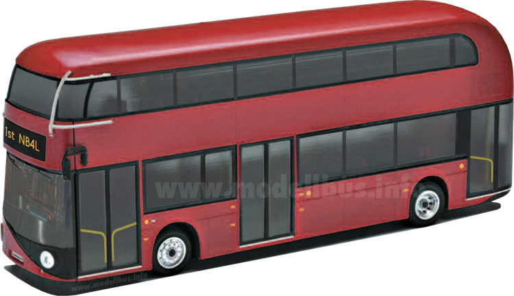 Wright New Bus for London modellbus info