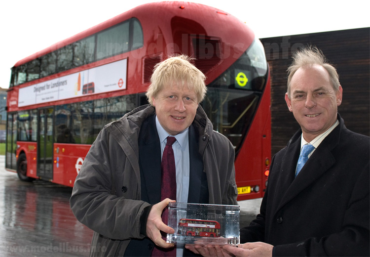 New Bus for London model bus Johnson Martin modellbus info