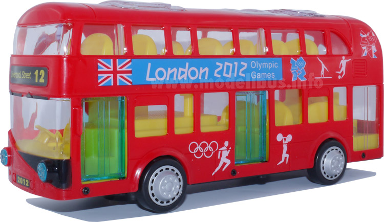 New Bus for London China modellbus info