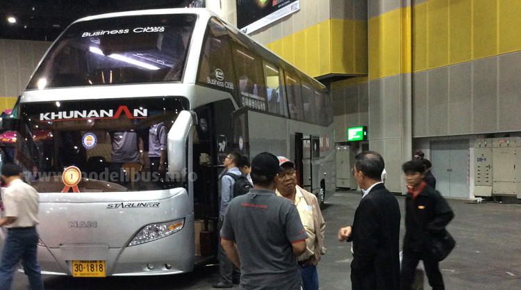 Bus and Truck Expo2014  Bangkok - modellbus.info